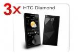 <p> <strong>3 x telefon HTC Touch Diamond, 100 x abonament Vodafone Internet pe mobil gratuit timp de 1 an</strong></p>