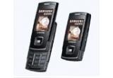 un telefon mobil Samsung E900<br />