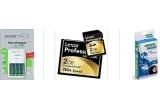 <p>Incarcator Varta + 4 acumulatori 2700mAh, Card memorie Lexar 2GB, Kit servetele Green Clean pentru curatat optica</p>