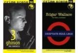 un pachet de carti ( &quot;3 cu ghinion&quot; de Emil Simionescu si &quot;Dreptate fara lege&quot; de Edgar Wallace)<br />
