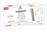 2 bilete concert Madonna - Gold Bar<br />