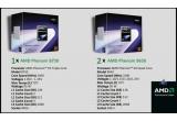 <p> 1 x procesor AMD Phenom 8750, 3 x procesor AMD Phenom 9650<br /> </p>