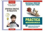 3 x  pachet de carti ( Strategia creativa in publicitate, Bonnie L. Drewniany, A. Jerome Jewler, Practica merchandisingului. Spatiul de vinzari. Oferta de produse. Comunicarea la locul de vinzare, Dominique Mouton, Gauderique Paris)<br />
