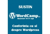 5 invitatii la conferinta Word Camp<br />