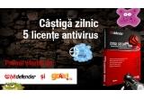 <p> 5 x licenta antivirus Total Security 2009 de la BitDefender<br /> </p>