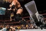 Un comentariu la un show de wrestling impreuna cu Gabriel Guguianu si Mihai Brasoveanu si materiale promotionale WWE (World Wrestling Entertainment).<br />