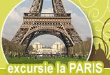 <div> O excursie la Paris pentru doua persoane, camera video, DVD player, MP4 player</div>