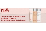 <p> 10 x set Time Dimensions de la Boots (Conditioning Cleansing Cream, Refining Toning Water si Clarifying Facial Exfoliator)<br /> </p>