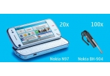 <p> 100 x casca Bluetooth Nokia BH-904, 20 x Nokia N97<br /> </p>