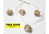 <p> 8 x set bijuterii oferite de Tria Alfa<br /> </p>