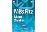 <p> 3 x invitatie simpla la Miss Fitz <br /> </p>