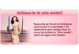 """Un curs de initiere in """"Arta modei"""", oferit de Agora Art Studio"""