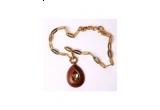 Un  colier Baldinini suflat cu aur, oferit de FashionUp.ro