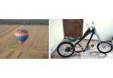 un zbor de agrement cu avionul pentru 2 persoane, un zbor cu balonul pentru 2 persoane, o bicicleta Low Ride, 2 x bilet de avion (dus-intors) la Londra + 2 x bilet la Barcelona; vouchere pentru jocuri de laser tag (la LaserMaxx), bilete la concertul ZZ Top (de la D&D East Entertainment), la patinoar (The Champs), la film (la The Light Cinema), exemplare din Ghidul Animalului Urban/2009;