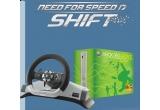 O consola Xbox 360, un volan wireless si un joc Xbox 360, 10 x joc pentru calculator