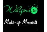 o reducere de 30 % pentru fiecare dintre cele 4 cursuri de make-up Whisper Make-up Moments