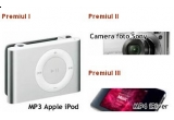 un MP3 Palyer Apple, O camera foto Sony, un MP4 iRiver