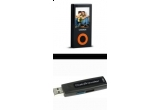 un Canyon 4GB Video/Mp3 Player, un Flash Pen Kingston Data Traveler 100, 4GB