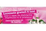 dreptul de a locui in Casa Herbal timp de 6 luni (11.01.2010 - 11.06.2010)