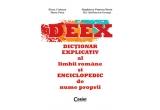 2 x Dictionarul explicativ al limbii romane si enciclopedic de nume proprii