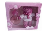 Premii Barbie, constand intr-un parfum BARBIE PINK si un ursulet roz<br />