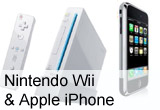 4 x Consola Nintendo Wii, telefon Apple iPhone