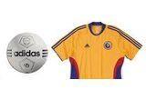 Un echipament oficial complet al Romaniei (tricou + sort + sapca) marca Adidas;Un tricou oficial al Romaniei Adidas + o minge Adidas; O minge Adidas; O sapca oficiala a Romaniei Adidas, 20 de memorii externe de 2GB<br />
