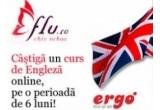 un curs de engleza online de 6 luni oferit de  Ergo Language Centre