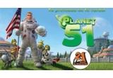 2 x Ipod-uri Shuffle de 2GB oferite de Macpraxis, 51 x Invitatii la vizionarea de presa a filmului Planet 51, 51 x Pachete formate din materiale promotionale Planeta 51, 51 x Colectii de DVD-uri Misiunile NASA cuprinse in colectia Enciclopedica oferite de Cotidianul