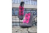 o pereche de botine din colectia toamna-iarna 2009-2010 semnata Pixie Shoes
