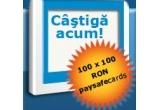 100 x paysafecard-uri in valoare de 100 de RON