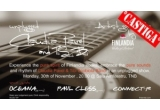 5 x invitatie dubla la concertul Claudia Pavel si Tibi Scobiola Band
