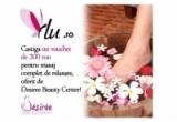 un voucher de 300 ron pentru masaj complet de intretinere de la Desiree Beaty Center