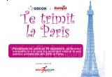 un weekend pentru doi, la inceputul anului 2010, la Paris, premiu oferit de RUEFA ESCAPE TRAVEL