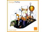 "cartele SIM Orange PrePay cu 4 euro credit, DVD-uri concert ""Intre prieteni"", magneti"