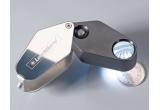 un cantar digital marca SAFE - Germania, o lupa cu marire 10x si iluminare cu LED