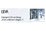 "6 CD-uri Sting ""If a Winter's Night"""
