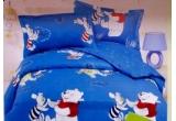 o lenjerie de pat pentru copii cu Winnie the Pooh