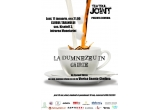 "o invitatie dubla la piesa ""La Dumnezeu in chirie"", Teatrul Joint, Bucuresti"