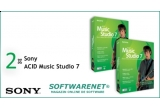 2 x licente Sony ACID Music Studio 7