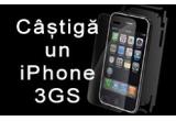 o folie de protectie indestructibila iShield/ saptamanal, un telefon mobil iPhone 3GS