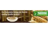 30 x pachete Nestle (fiecare pachet contine: cutie metalica Fitness, bol Fitness, produse Fitness), marele premiu-1500 ron