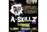 2 x invitatii duble la A-Skillz & Lebrosk in Fabrica