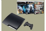 un joc Playstation 3, 9 x DVD-uri cu filme oferite de Movie Gallery
