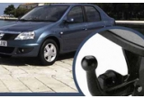 un carlig de remorcare pentru Dacia Logan