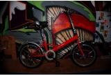 o bicicleta pliabila