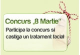 un tratament facial in valoare de 120 RON