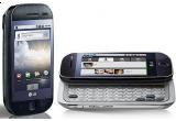 un telefon LG GW620 cu Google Android
