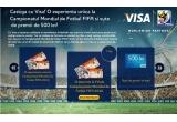o excursie la finala Campionatului Mondial FIFA 2010 Africa de Sud, 2 excursii la meciurile din grupe + un bonus special: un tur exclusiv al stadionului inainte de meci, 6 premii zilnice in valoare de 500 RON
