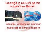"""un pachet cu doua CD-uri """"Romantic Exclusive"""" / zi"""